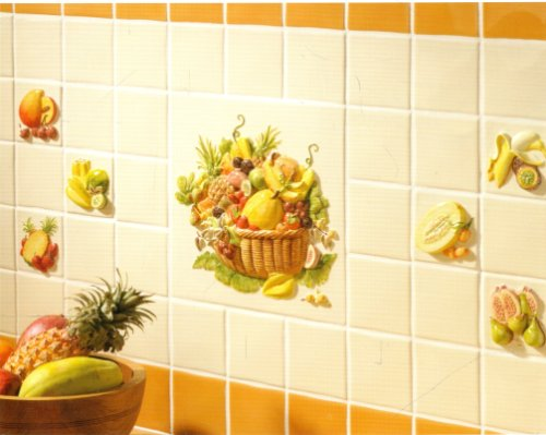 Kitchen Tiles Fruit Design Kitchen Tiles With Fruit Design   Home Design  Ideas Part 3